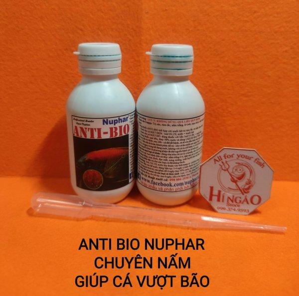 Dung dịch Anti Bio cho cá cảnh, xử lý trùn chỉ | Hingaostore.