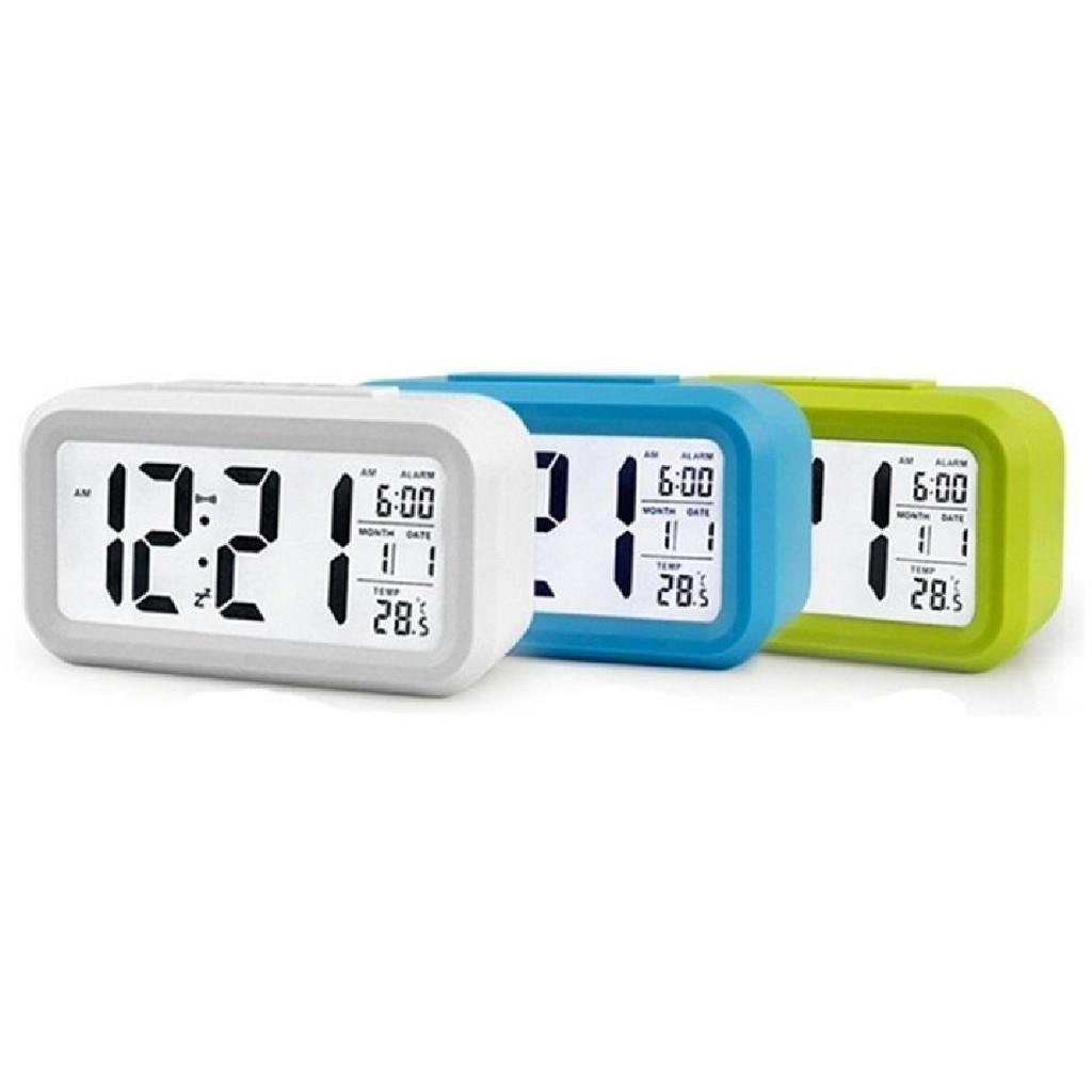 Nơi bán Đồng Hồ Để Bàn Màn Hình Led - Đủ 5 Màu, Kèm Nhiệt Kế. Đồng hồ báo thức - Đồng Hồ Điện Tử Để Bàn - DH011