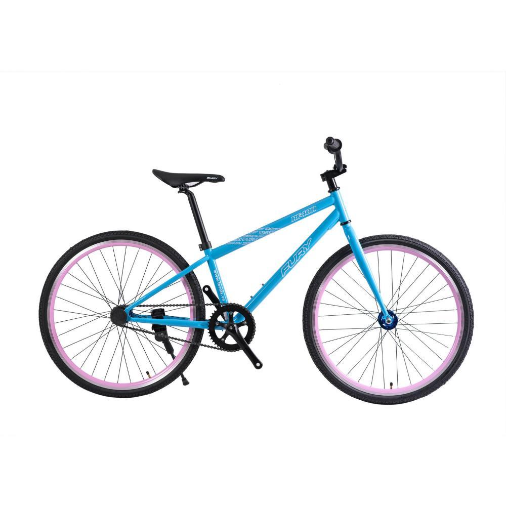Mua Xe đạp fixed gear BF400 màu xanh lơ