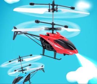 [CÓ VIDEO] Máy bay điều khiển từ xa cảm ứng bằng tay A001 dành cho bé 5
