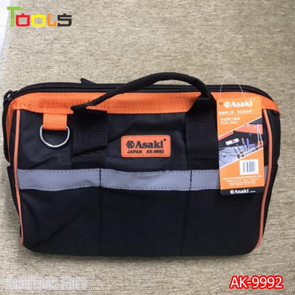 Túi xách đựng dụng cụ đồ nghề đa năng Asaki AK-9992 - Túi đồ nghề Asaki