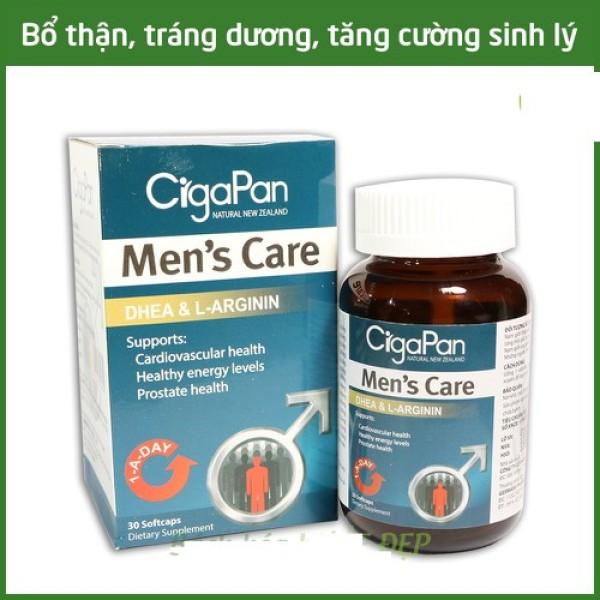 Tăng Cường Sinh Lý Nam CigaPan Men Care  Sâm Nhung bổ thận tráng dương tăng ham muốn