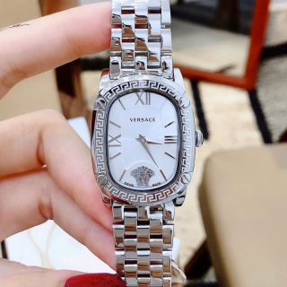 Đồng hồ nữ cao cấp đồng hồ nữ ver ace0169-máy pin-dây the p không gi -size 30mm-Full Box thumbnail
