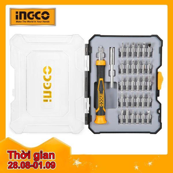 INGCO Bộ 32 đầu vít HKSDB0348