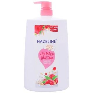 Sữa tắm Hazeline Yến mạch dâu tằm 1.2 kg Hồng thumbnail