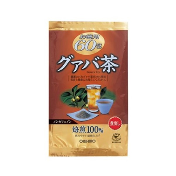 Trà giảm cân lá ổi Orihiro Bio God 60 túi lọc Nhật Bản nhập khẩu