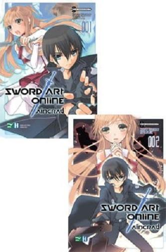 Sword Art Online (Combo Truyện Tranh Tập 1+2) Giá Tiết Kiệm Nhất Thị Trường