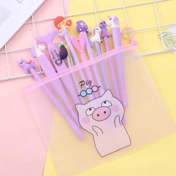 Mua Túi đựng bút cute hình HEO HỒNG
