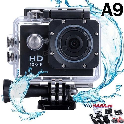 Camera hành trình xe máy - Camera phượt thể thao chống nước 1080P Nhật Bản