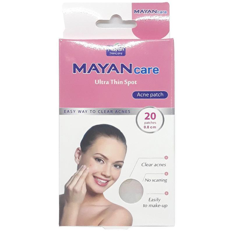Miếng dán mụn Mayancare hộp 20 miếng