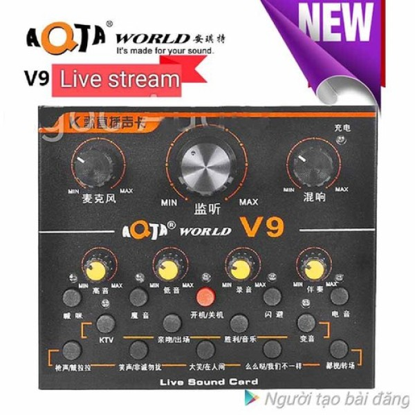 Giá Sound Card AQTA V9