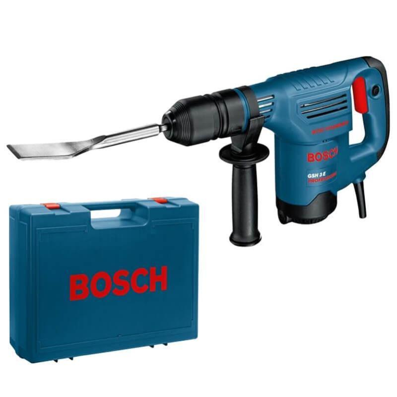 Máy đục bê tông Bosch GSH 3 E + Quà tặng áo mưa trị giá 100.000