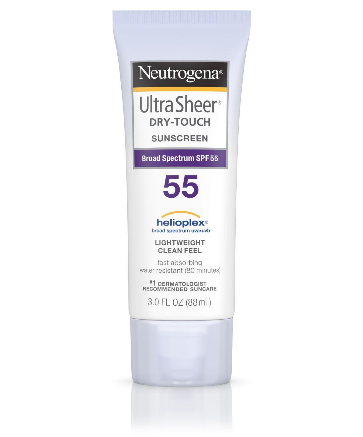 Kem chống nắng Neutrogena SPF 55 Ultra Sheer Dry Touch Sunscreen