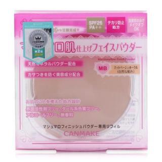 Lõi phấn phủ Canmake Marshmallow Finish Powder SPF26 PA++ 10g - Nhật Bản (Tông MB - Da tự nhiên) thumbnail