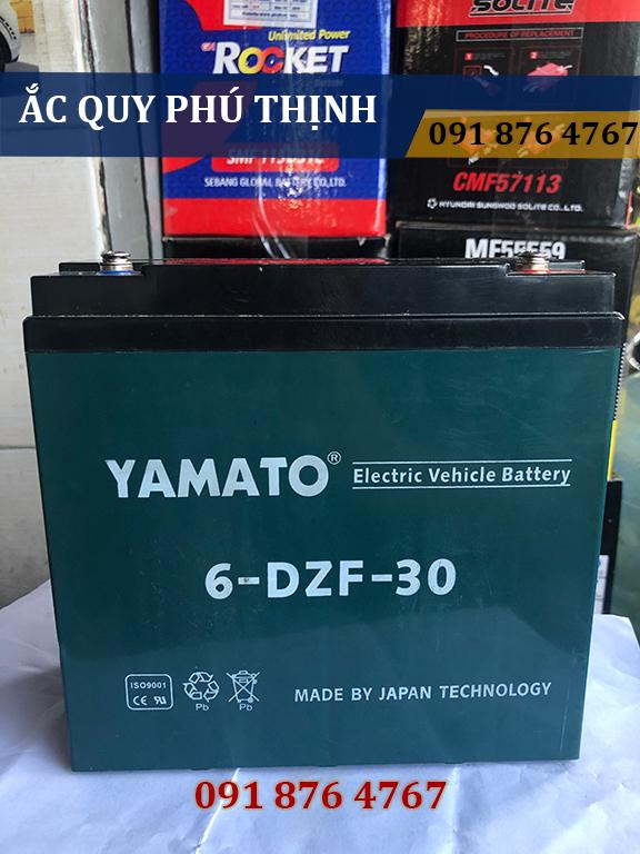 Ắc Quy Xe Đạp Điện Yamato 12V- 30AH 6-DZF - 30 EMPIRE