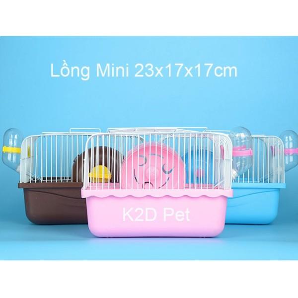Lồng Hamster Mini Full Phụ Kiện
