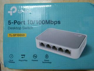 Hub Mạng 5 Port TPL TL-SF1005D, Bộ Chia Tín Hiệu Mạng giá tốt bảo hành 12 tháng thumbnail