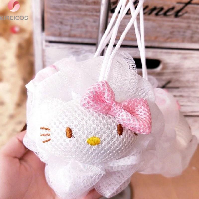 Bông Tắm Tròn Hello Kitty Dễ Thương giá rẻ