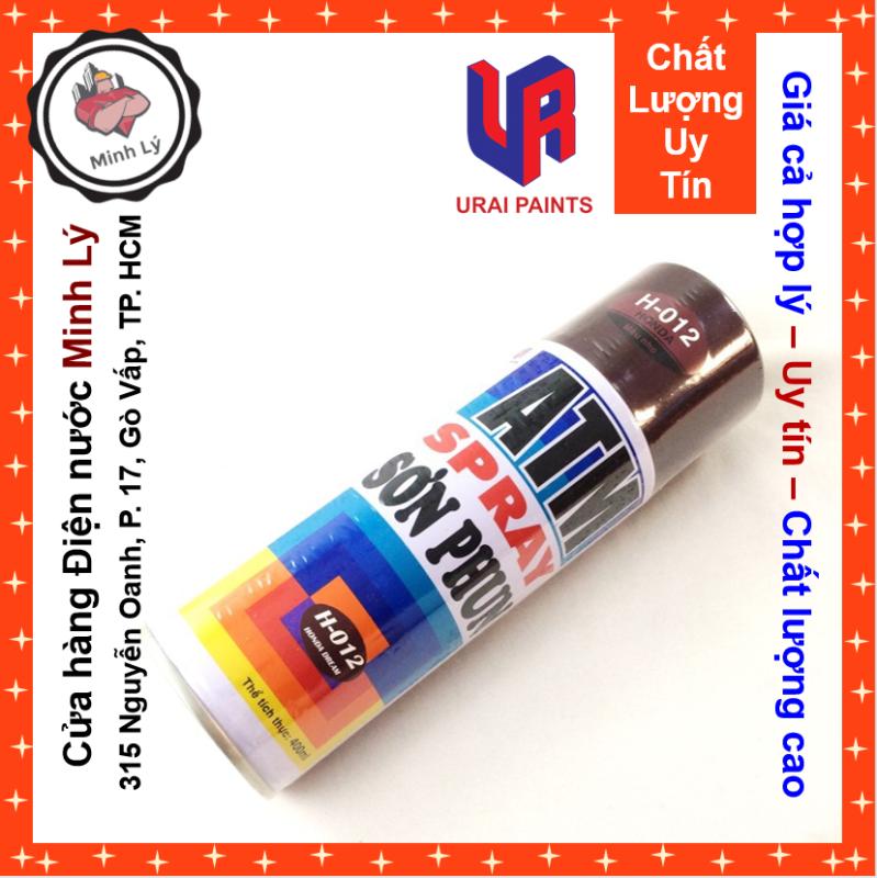 Sơn Phun Màu Nho H-012 Honda Dream ATM Spray Cao Cấp (400ml/chai)