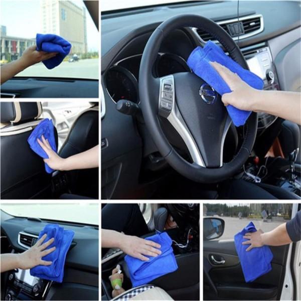 Siêu sợi tsc Microfiber 70*30 lau vệ sinh xe ô tô đa năng