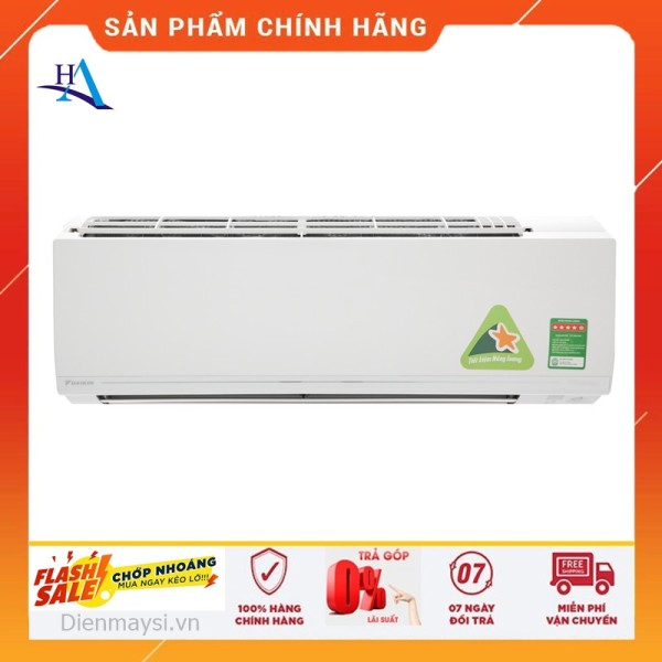 [HCM][ELHAL5 giảm 7% tối đa 1TR] Máy lạnh Daikin Inverter 2.5 HP FTKC60UVMV (Miễn phí giao tại HCM-ngoài tỉnh liên hệ shop)