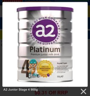 Sữa A2 Platinum số 4 cho trẻ từ 3 tuổi thumbnail