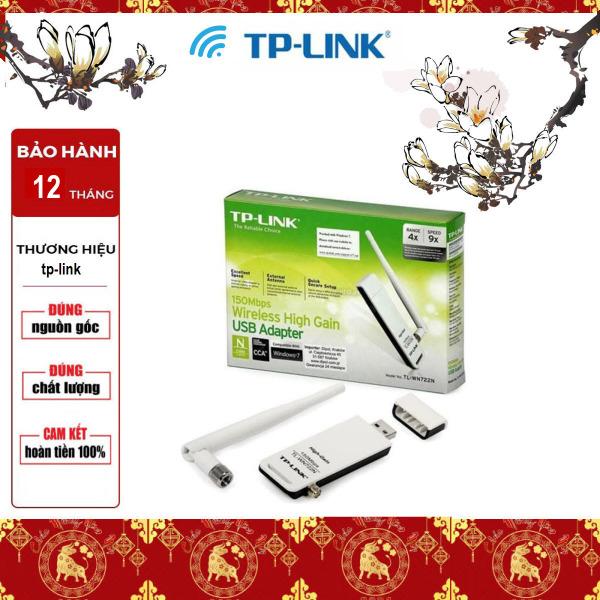 Bảng giá [Sản Phẩm Mới] TP-Link USB wifi (USB thu wifi) Chuẩn N 150Mbps TL-WN722N - Bảo Hành 12 Tháng {1 đổi 1} Phong Vũ
