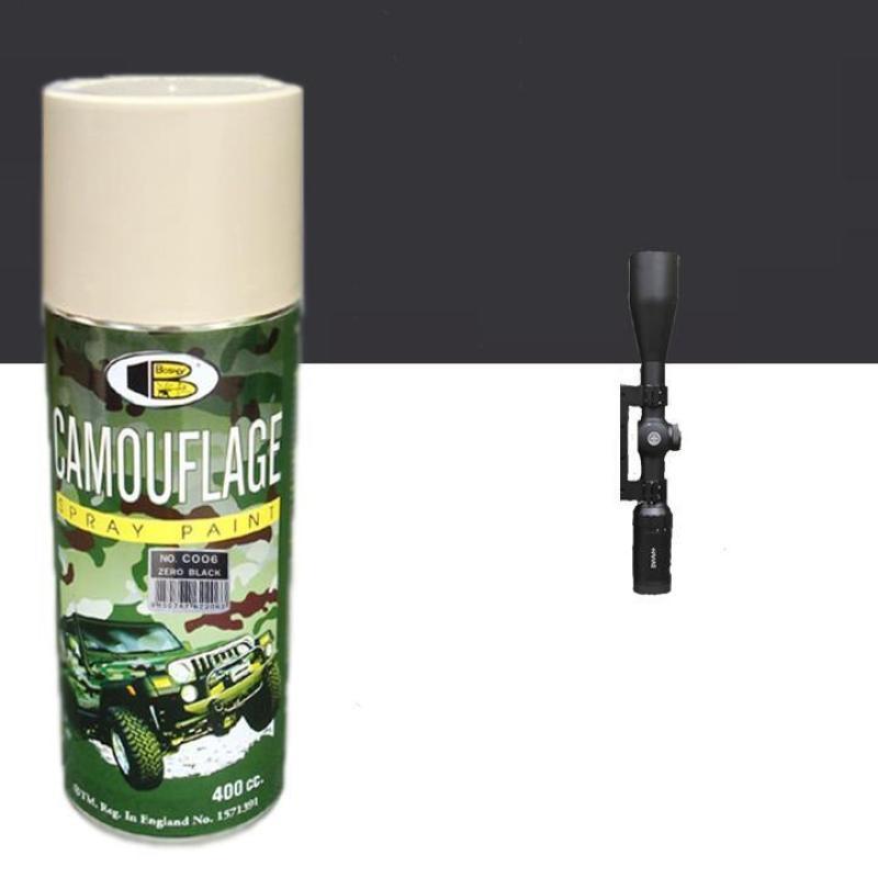 Son xit nguy trang Zero Black- Camouflage Bosny