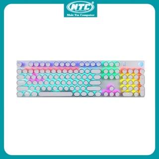 Bàn phím cơ blue switch HP GK400Y phím tròn mạ bạc - hơn 20 chế độ led tùy chỉnh - Nhất Tín Computer thumbnail