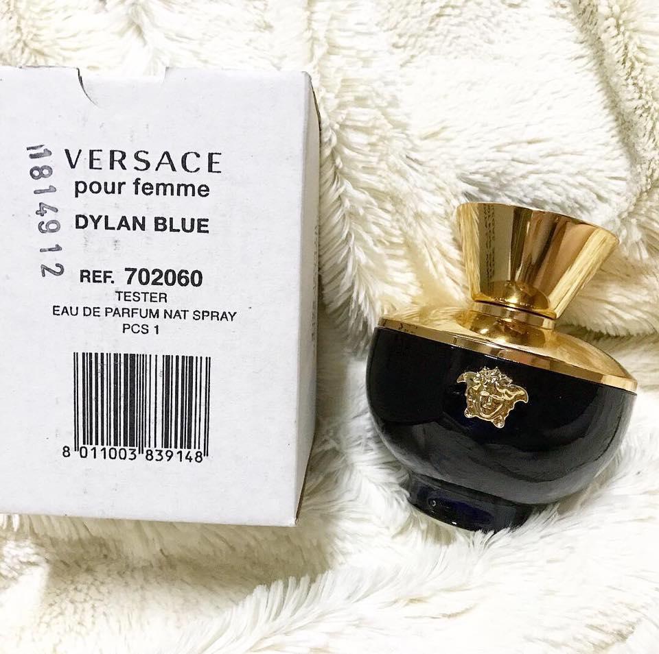 Nước Hoa Nữ Versace Dylan Blue (Tester) 100ml
