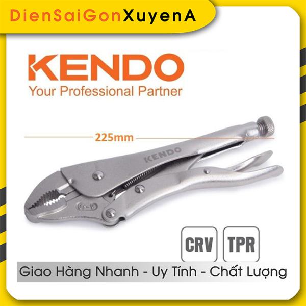 Kìm bấm khóa chết 225mm 9inch CRV KENDO 11606- Điện Sài Gòn Xuyên Á