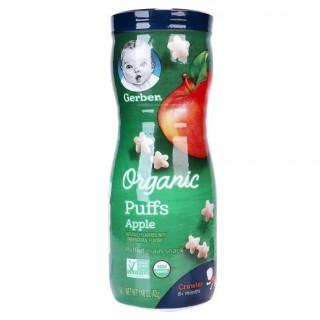 Bánh ăn dặm Gerber Organic đủ vị - Ngọc Lan - táo, sản phẩm tốt, chất lượng cao, cam kết như hình thumbnail