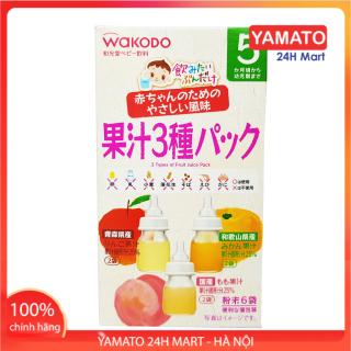 Trà Wakodo vị hoa quả Nhật Bản cho bé 5 Tháng Tuổi, Trà Giải Khát, Chống Tưa Lưỡi, Trà Hoa Quả Cho Bé, Tốt Cho Hệ Tiêu Hóa Của bé thumbnail