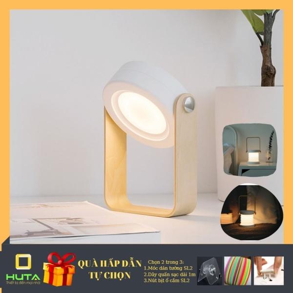 Đèn đọc sách để bàn, đèn trang trí cảm ứng,pin sạc tích điện biến hình thành đèn lồng, đèn ngủ, đèn dã ngoãi, đèn picnic
