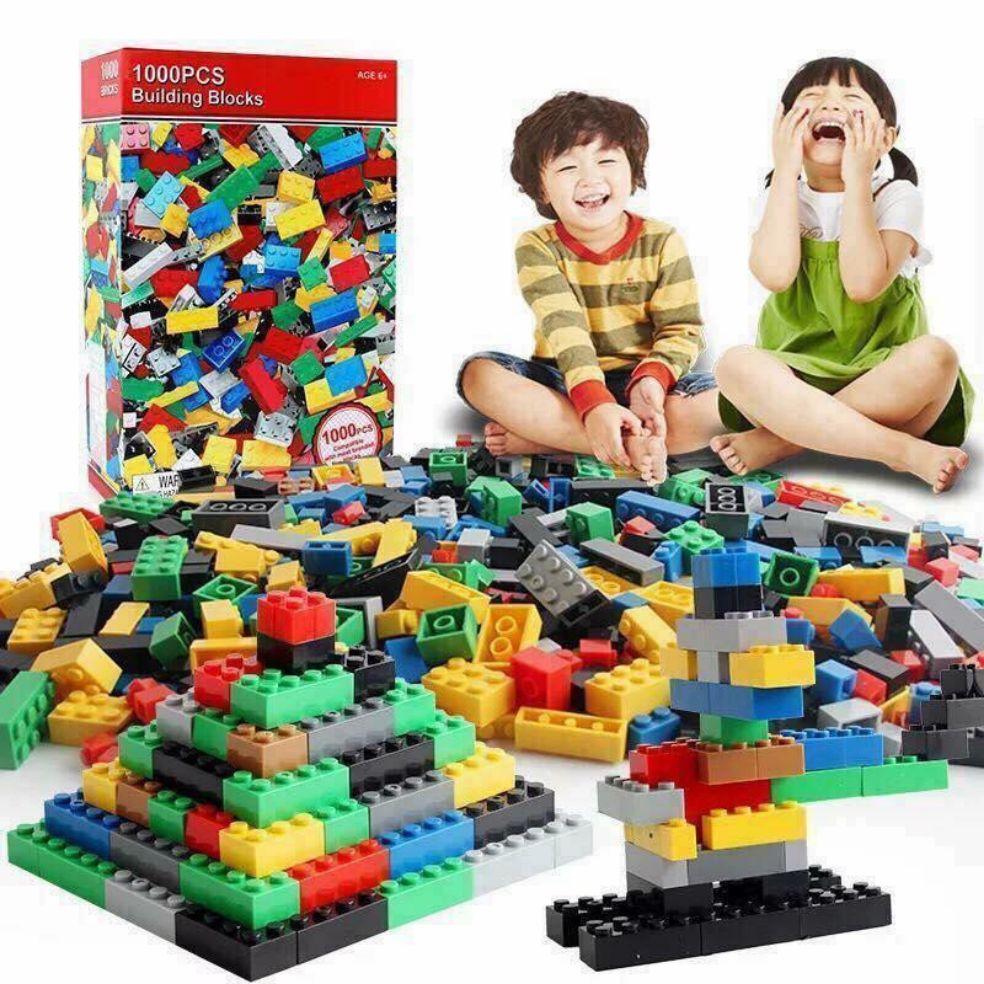 Voucher Khuyến Mãi BỘ XẾP HÌNH LEGO 1000 MIẾNG. QUÀ TẶNG Ý NGHĨA CHO CON. PHÁT TRIỂN TRÍ THÔNG MINH.