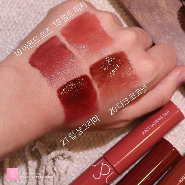 [MÀU 18-21] Son Tint Lì Cho Môi Căng Mọng Romand Juicy Lasting Tint Ripe Fruit 5.5g