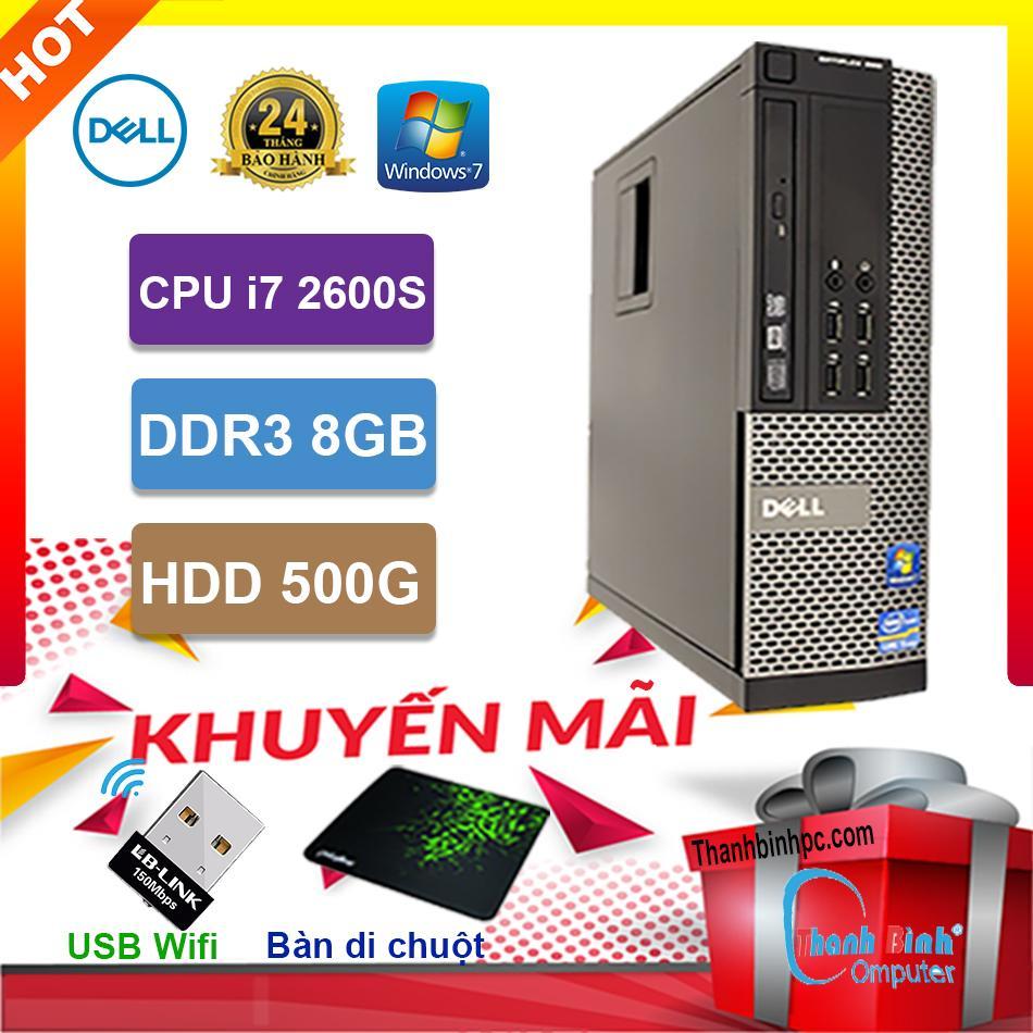 Máy Tính Đồng Bộ Dell I7 2600S - RAM 8G - HDD 500G - Bảo Hành 24 Tháng Giảm Cực Sốc