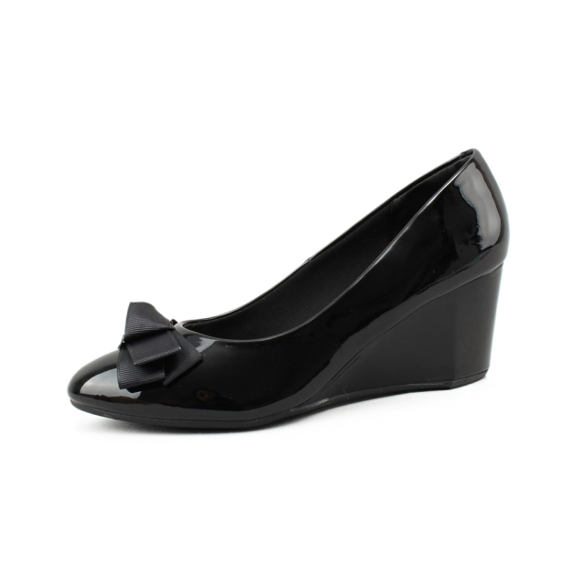 Giày Cao Gót - Giày cao cấp Aliza A973 - Giày Đế Xuồng 6cm - Màu: Đen, Kem, Nâu Fullsize giá rẻ