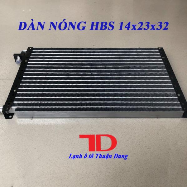 Dàn nóng HBS 14x23 inch 36x59 cm dày 32mm