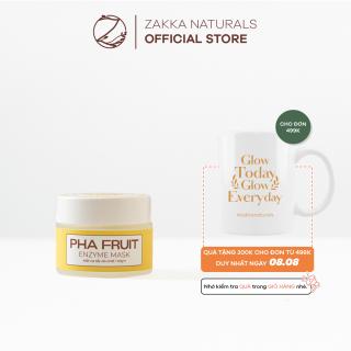 Mặt Nạ Enzyme Trái Cây Zakka Naturals Làm Sạch Mềm Da, Tẩy Tế Bào Chết PHA Fruit Enzyme Mask 40g thumbnail
