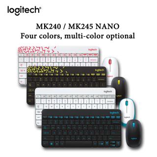 Logitech MK245 MK240 Nano Wireless Keyboard and Mouse Combo for laptop desktop home office using thumbnail