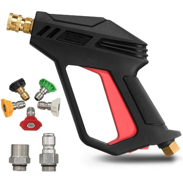 Pressure Washer 4000 PSI Upgrade Version Car Power Washer with M22-14 mm and 3/8 inch Quick Inlet Connector