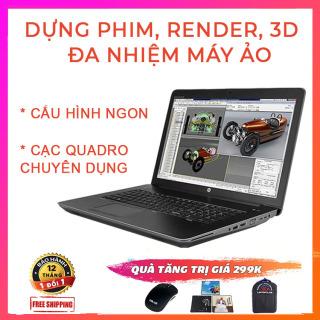 HP Zbook 17 G2 Chuyên Render, Dựng Phim, Đa Nhiệm Máy Ảo, i7-4810MQ, VGA Quadro K3100M-4G, Màn 17.3 Full HD, Laptop HP thumbnail