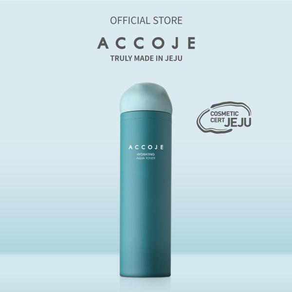 Nước cân bằng cấp ẩm Accoje Hydrating Aqua Toner tốt nhất