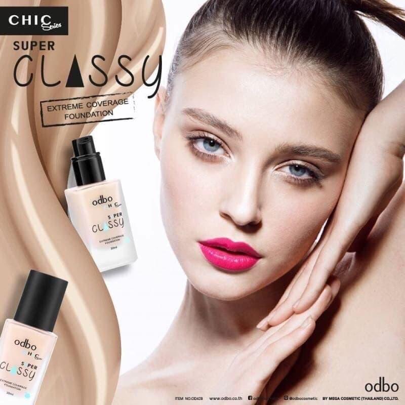 kem lót  trang điểm cao cấp thái lan Super Odbo Classy CHIC OD428 tốt nhất