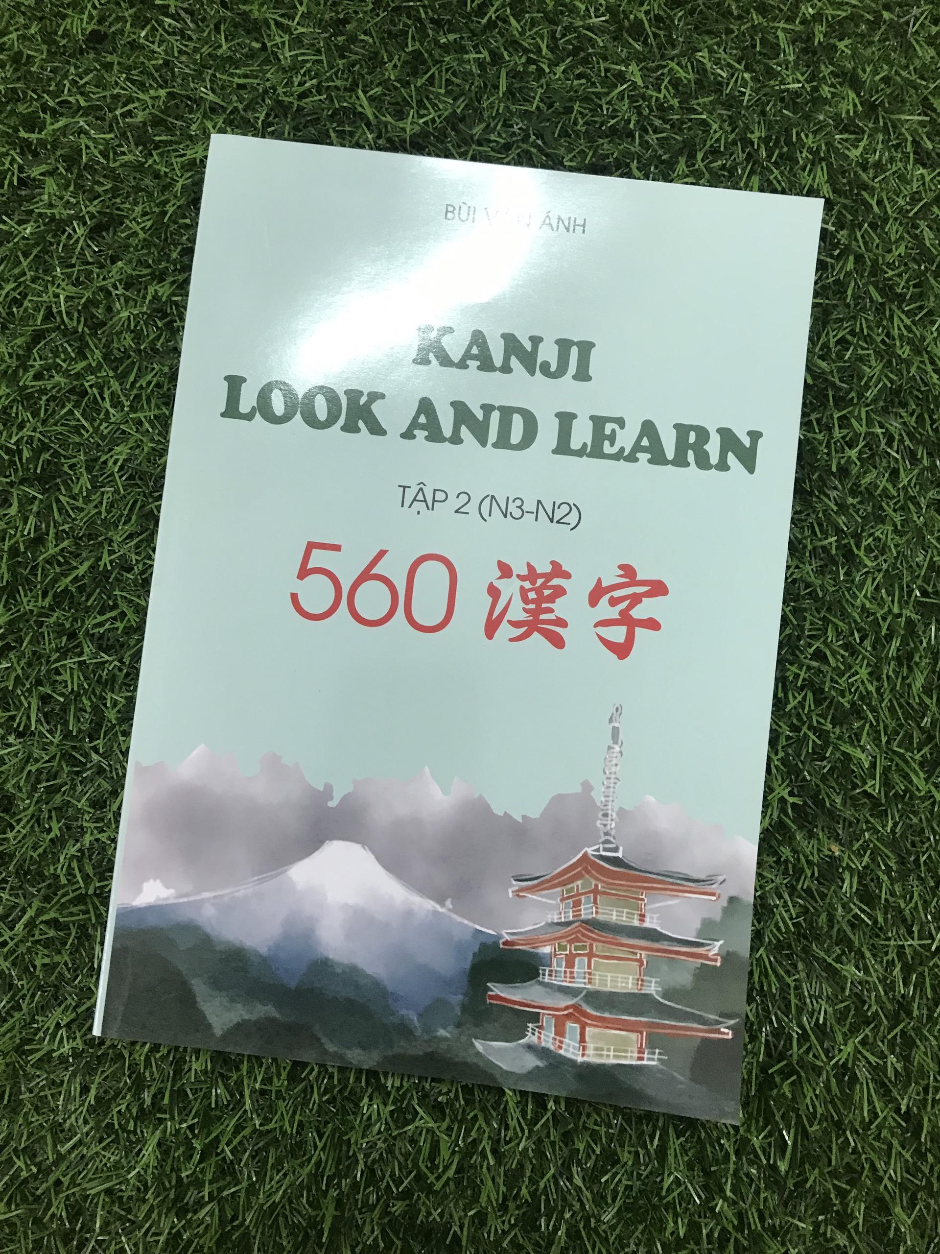 Giá Tiết Kiệm Để Sở Hữu Ngay Kanji Look And Learn Tập 2 ( N3 - N2 ) - Sách Học