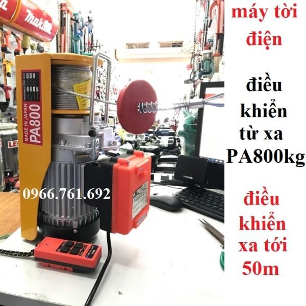 máy tời điều khiển từ xa - máy tời điện - máy tời treo - máy tời