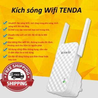 Kích sóng Wifi TENDA-Khuếch đại sóng Wifi, mở rộng vùng phủ sóng,có thể truy cập internet mọi nơi trong nhà-Cài đặt dễ dàng thông qua điện thoại hoặc máy tính-Giao hành toàn quốc bởi May Store. thumbnail