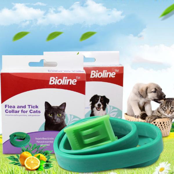 Vòng Cổ Chống Ve Rận Bọ Chét Cho Chó Mèo Bioline