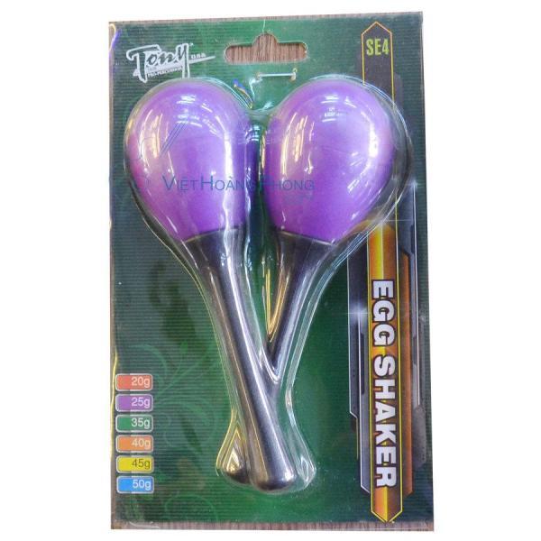 Trứng Lắc/ Lục lạc Trứng (Egg Shaker) Tony thương hiệu USA - HappyLive Shop